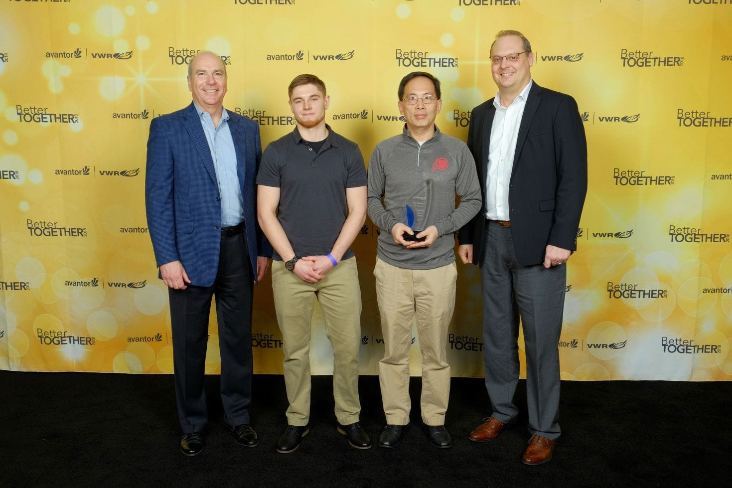 TWD Receives 2017 VWR Platinum Award in Operational Excellence